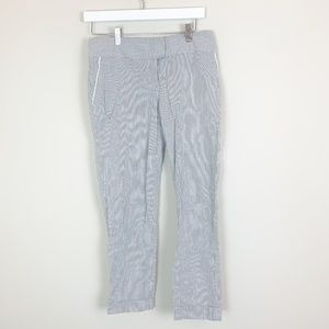The Limited Cassidy Fit Gray White Striped